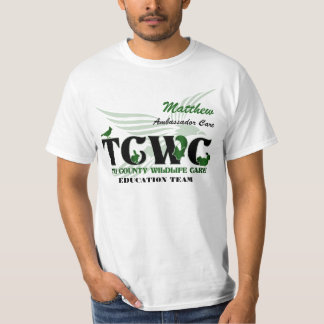 TCWC Logo Volunteer - Custom Volunteer / Name T-Shirt
