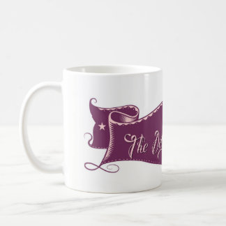 TDBG- Skull Banner Mug-Purple Coffee Mug