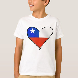 Te Amo Chile Chilean love and pride T-Shirt