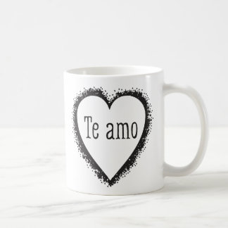 Te amo, I love you in Spanish Coffee Mug