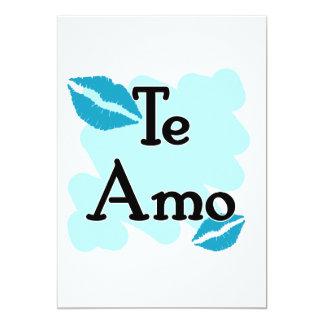Te Amo - Spanish - I Love You Custom Announcement