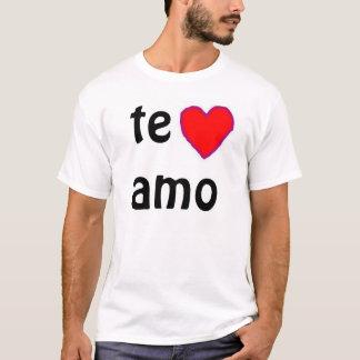 """""""Te amo"""" t-shirt"""