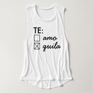 Te Amo Te Quila Tank Top