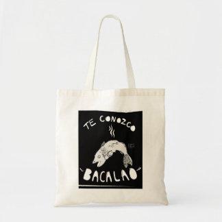 'Te Conozco Bacalao' Tote Bag