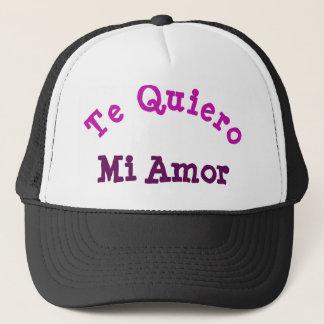 Te Quiero Mi Amor Trucker Hat