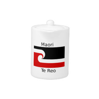 Te Reo Language And Maori Flag Design