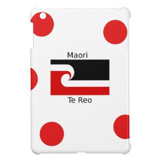 Te Reo Language And Maori Flag Design iPad Mini Cover