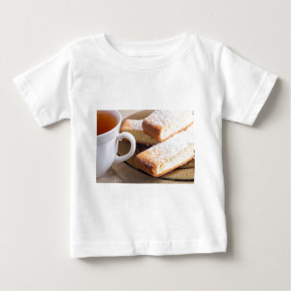Tea and a plate of fresh biscuits baby T-Shirt