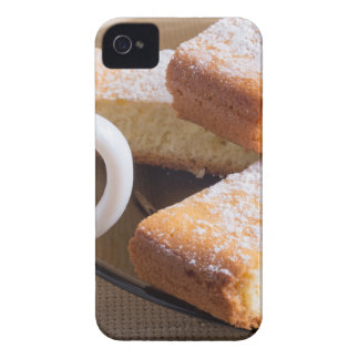 Tea and a plate of fresh biscuits iPhone 4 case