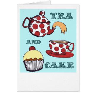 Tea and Cake Card
