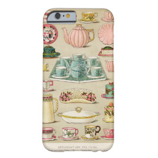 Tea and China Vintage Art Cell Phone Case Barely There iPhone 6 Case
