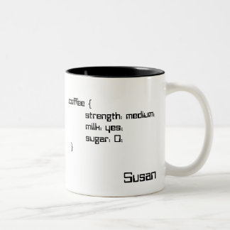 Tea and Coffee Cascading Style Sheet Mug