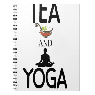 Tea And Yoga Notebooks