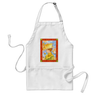 Tea Bag Lady Standard Apron