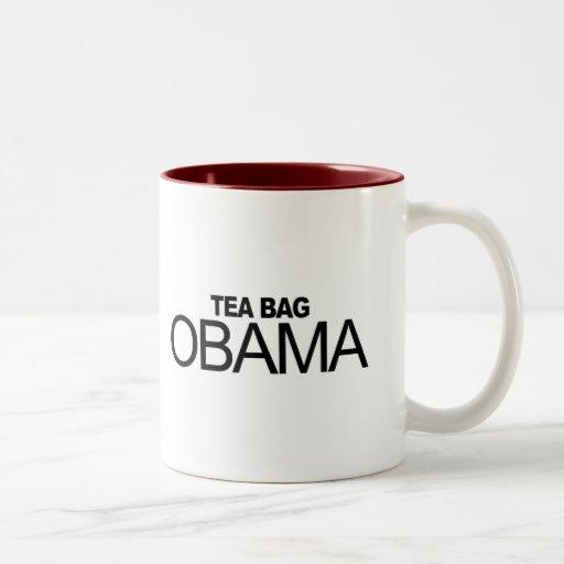 Tea Bag Obama Coffee Mug