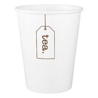 Tea Bag Tag Paper Cups