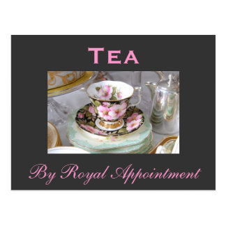 Tea By Royal Appointment Postcard