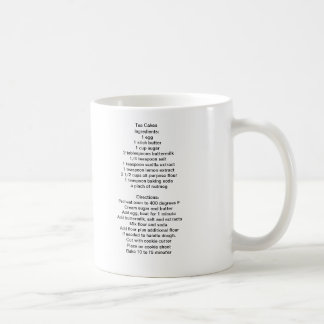 Tea Cake Recipe Mug