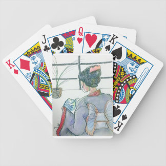 Tea Ceremonial Bicycle Playing Cards