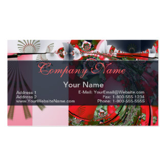 Tea Ceremony Fractal Pack Of Standard Business Cards