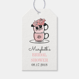 Tea Cup Bridal Shower Gift Tags