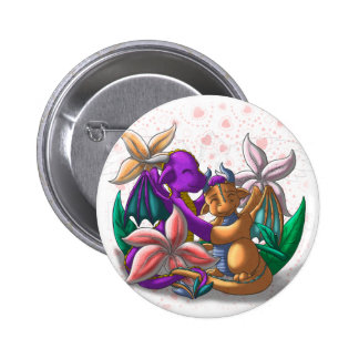 [Tea Cup Dragons] Lily Couple 6 Cm Round Badge