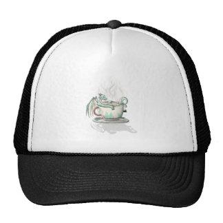 Tea Cup Dragons Peppermint Clear Trucker Hats