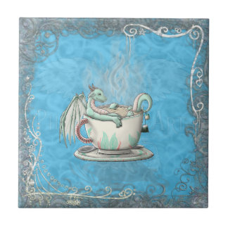Tea Cup Dragons: Peppermint Tile