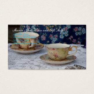 Tea Cups Business Card