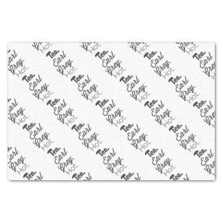 Tea - Earl Grey Hot Tissue Paper