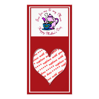 Tea For Me & My Mum - Happy Mother's Day Photo Cards