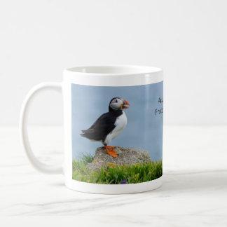 Tea for Two Puffin Mug