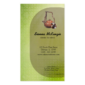 Tea House Pack Of Standard Business Cards