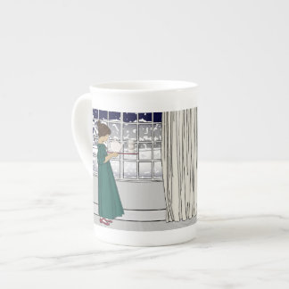 Tea in a Snowstorm Bone China Mug