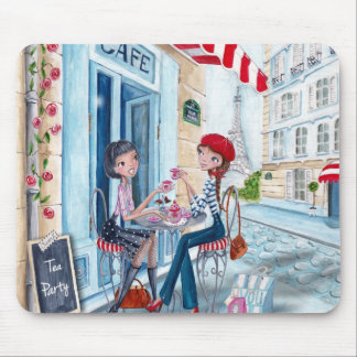 Tea in Paris - Mouse Pads