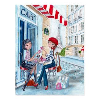 Tea in Paris - postcards