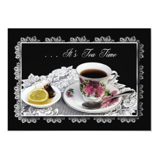 TEA INVITATION - TEA TIME