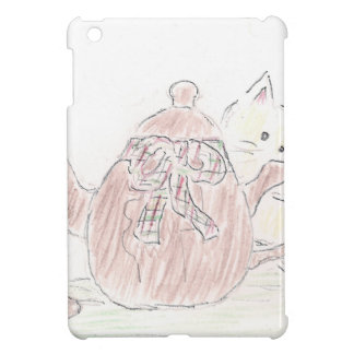 Tea Kettle Kitten iPad Mini Cases