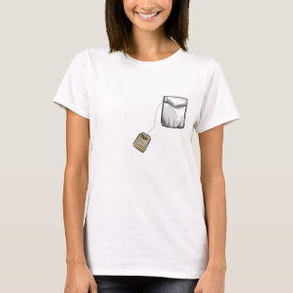 """Tea Lover"" Pocket tea tag Shirt"