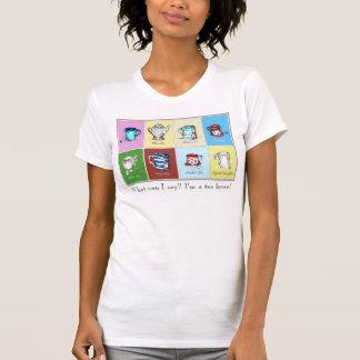 """Tea Lover"" Women's Fitted T-Shirt, White T-Shirt"