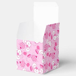 Tea mice favour box