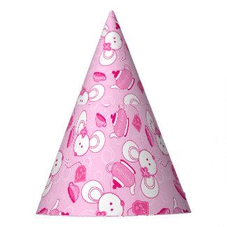 Tea mice party hat