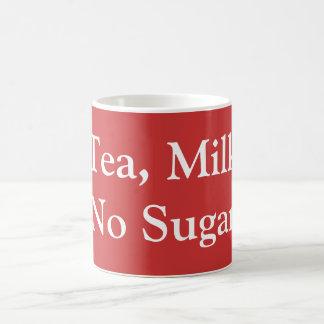 Tea, Milk, No Sugar Coffee Mug