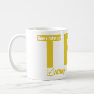 Tea, Milky, No sugar Coffee Mug