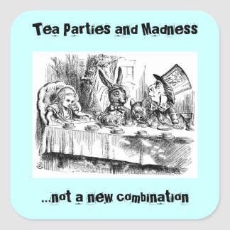 Tea Parties & Madness Stickers