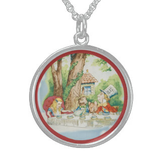 Tea Party 1 Sterling Silver Necklace
