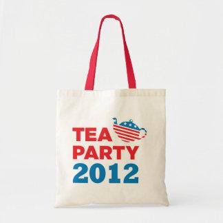 Tea Party 2012 Budget Tote Bag