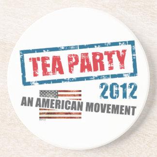 Tea Party 2012 Drink Coasters