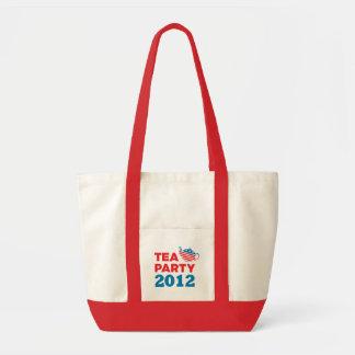 Tea Party 2012 Patriotic Tote Bag