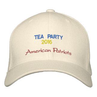 Tea Party 2014 Cap Embroidered Cap